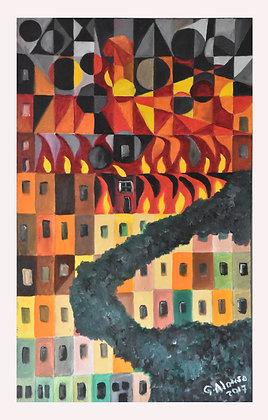 Levanta a saia em chamas - George Alonso