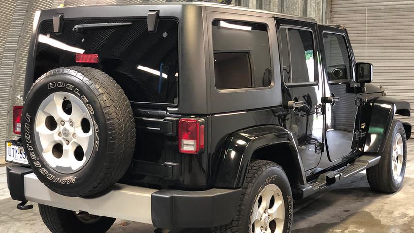 Back of Jeep Window TintMax VA