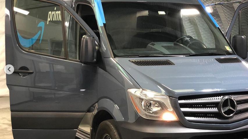 Mercedez Benz Amazon Prime Delivery TintMax VA