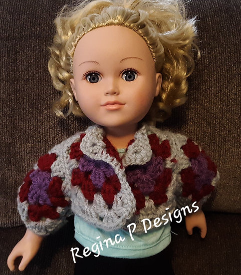 "18"" Doll Granny Shrug"