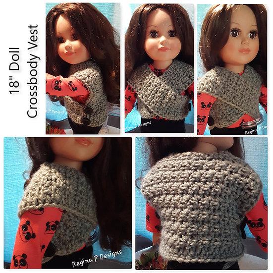 "18"" Doll Cross-body Vest"