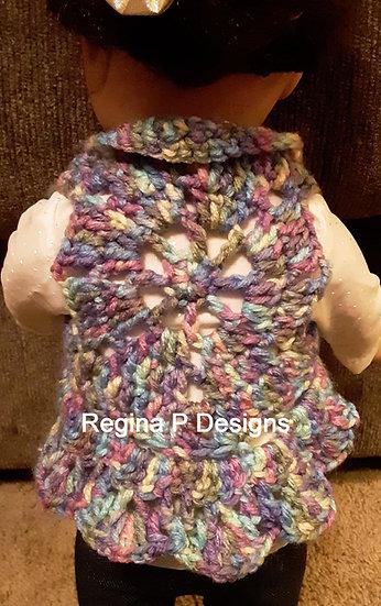 "18"" Doll Circle Vest"