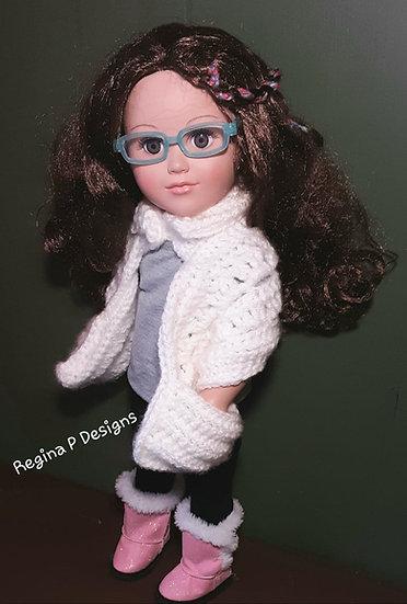 """18"""" Doll Pocket Scarf"""