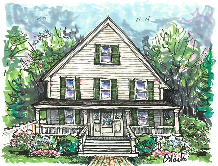 Drawing of home