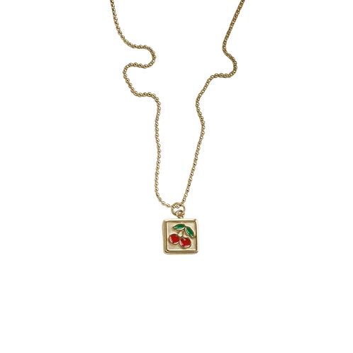 Ariana cherry pendant necklaces