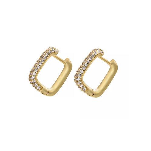 Laura crystal earrings