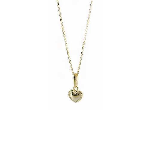 Hope dainty heart necklaces
