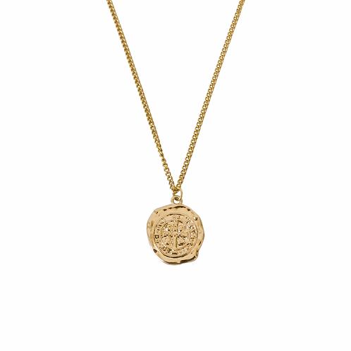 Arabella round pedant necklaces