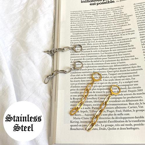 Ivy drop chain earrings