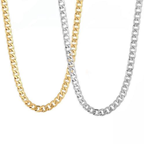 Jasmine layering chain necklaces
