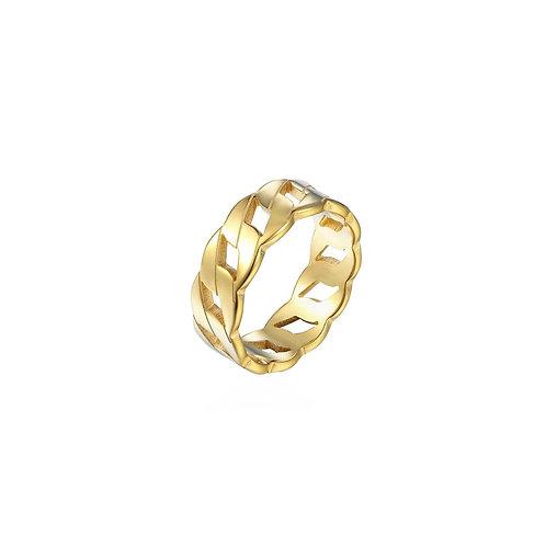 Elora chunky chain style rings