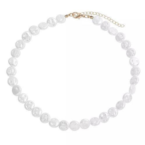 Nicole faux pearl necklaces