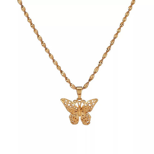 Addison butterfly necklaces