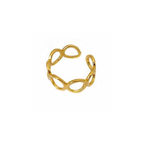 Anastasia gold adjustable O rings