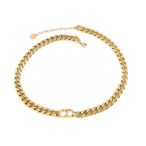Jennifer chunky chain necklaces