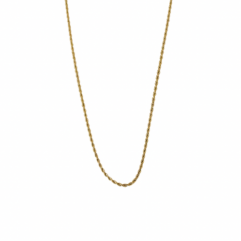 Leona twisted chain necklace