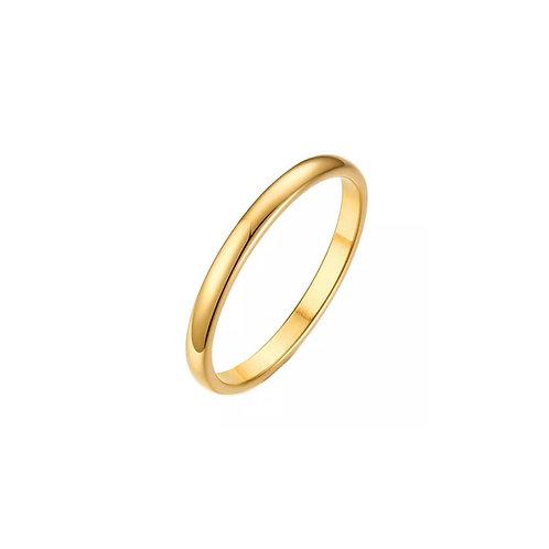 Zarah gold layering ring