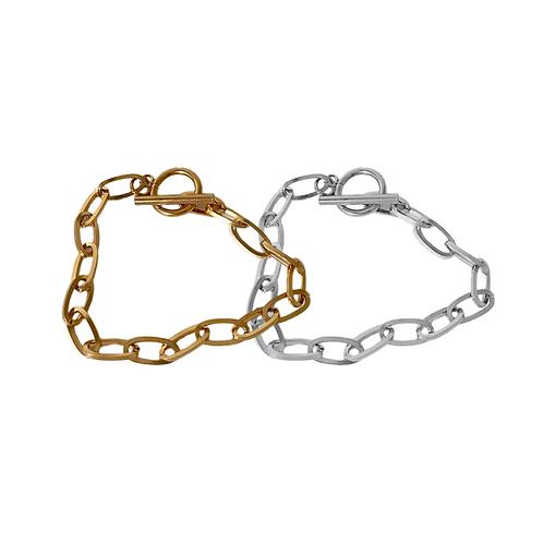 Liana chunky chain bracelets