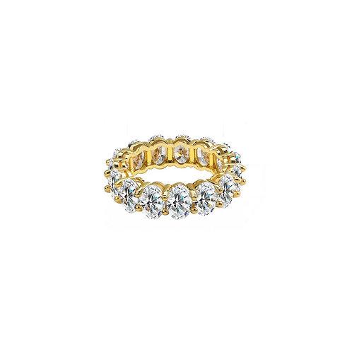 Lillia chunky crystal rings