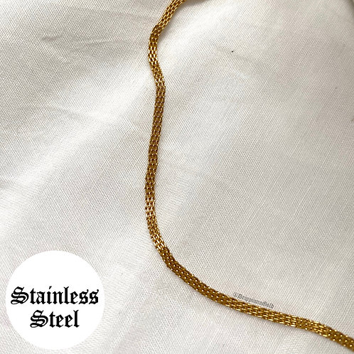 Molly snake chain layering necklace