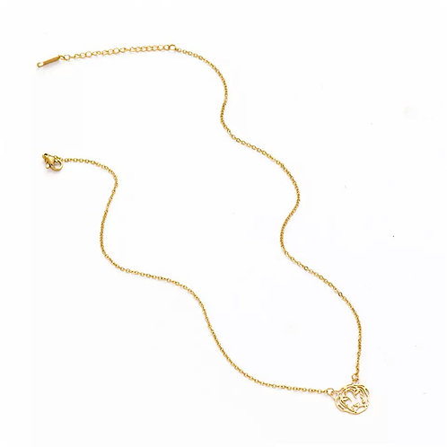 Chantel gold tiger necklaces