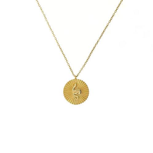 Sianna snake pendant necklaces