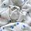 Thumbnail: Floral cotton hair scrunchie