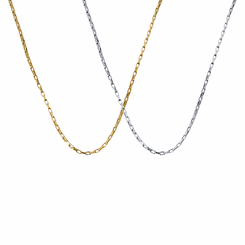 Valerie gold layering chain necklace