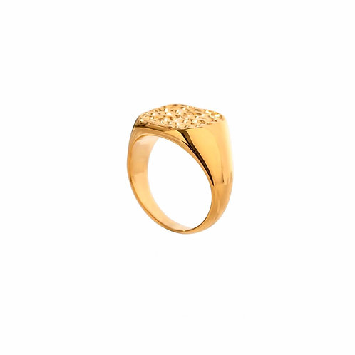 Becca texture chunky rings