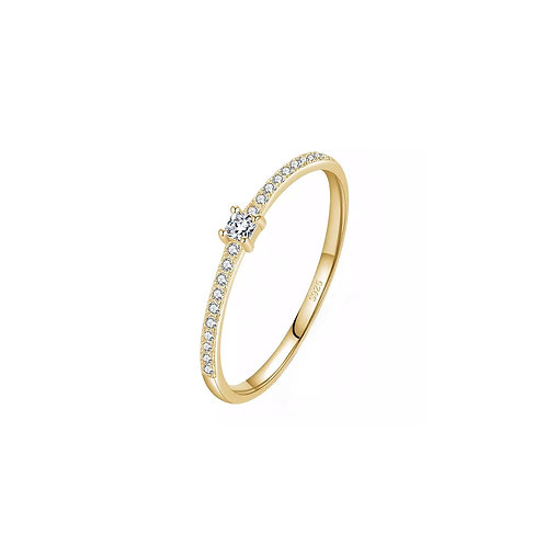Nell dainty crystal rings
