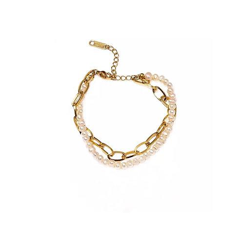 Esme double layer pearl bracelets