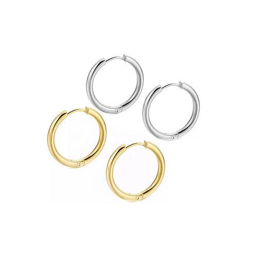 Harlow mini hoop earrings