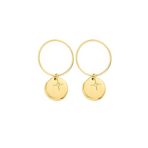 Chelsea sparkle statement earrings
