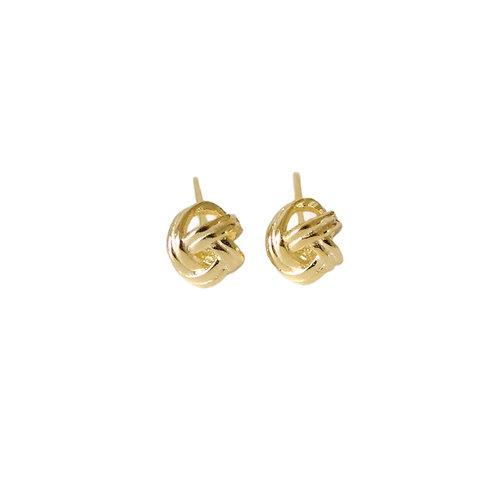 Louella small knot stud earrings