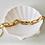 Thumbnail: Talia chunky chain bracelets
