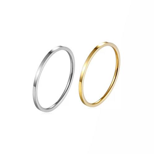 April classic slim rings