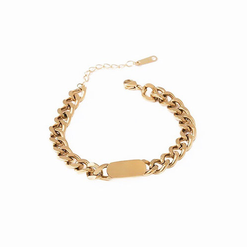 Maisey chunky chain bracelets