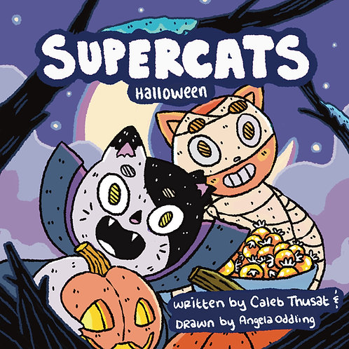 Supercats Halloween Retailer Bundle