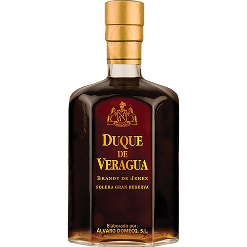 Álvaro Domecq SL 30yrs Duque de Veragua Gran Reserva Brandy DO Jerez-Xérès NV