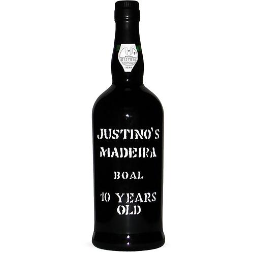 Justino's Madeira Boal 10 Years Old (Medium Rich)