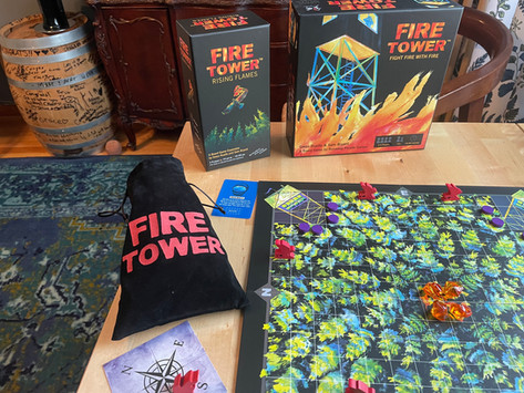 Review: Fire Tower Rising Flames