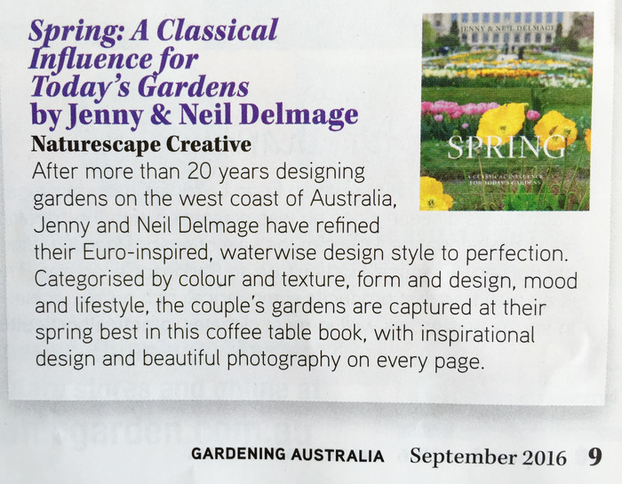Gardening Australia Spring Book Review