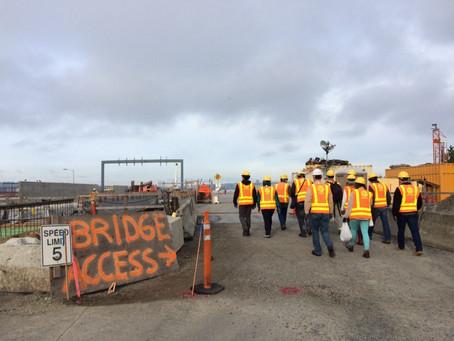 SR 520 Construction Tour