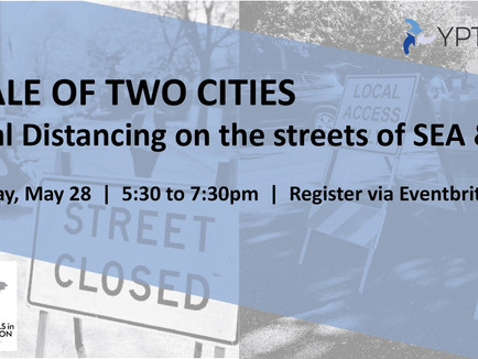Tale of Two Cities: Social Distancing on streets of SEA & PDX