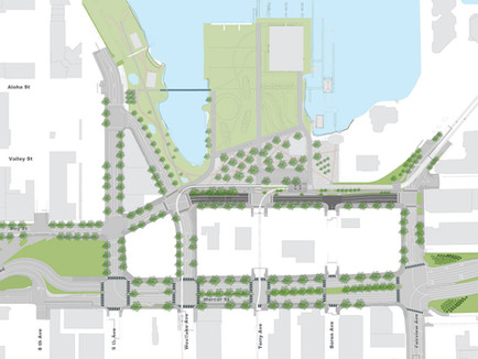 Tour of Mercer Street with Greenroads