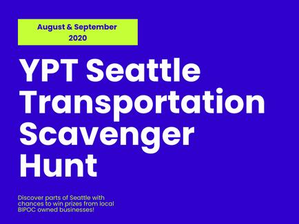Seattle Transportation Scavenger Hunt 2020