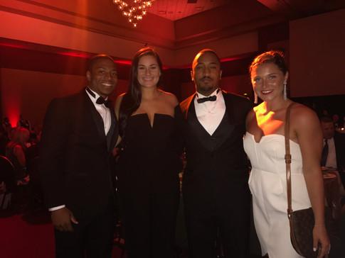 Lauren Chamberlain receives IBA Award