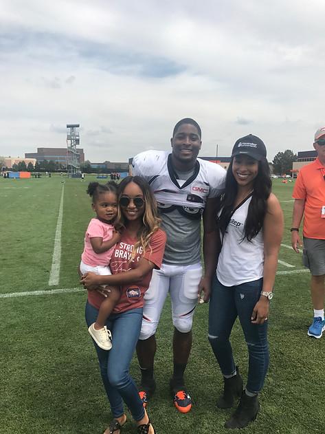 Corey Nelson's Family
