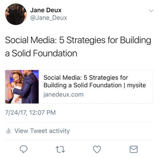 Social Media: 5 Strategies for Building a Solid Foundation