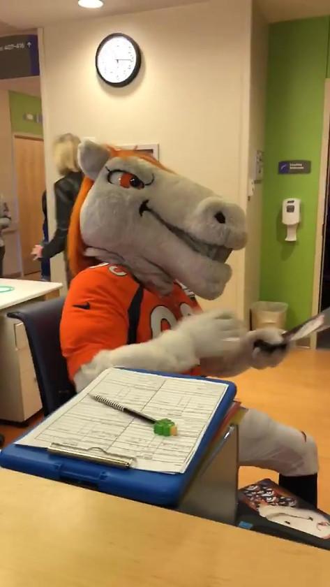 Corey Nelson w/ Denver Broncos